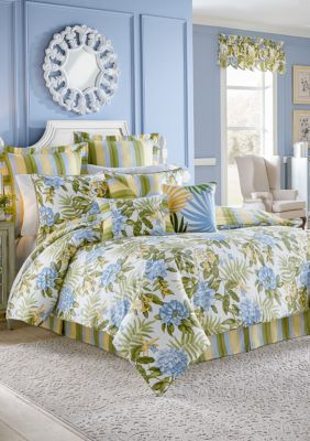 Waverly® Summer Splendor 4-Piece Comforter Set