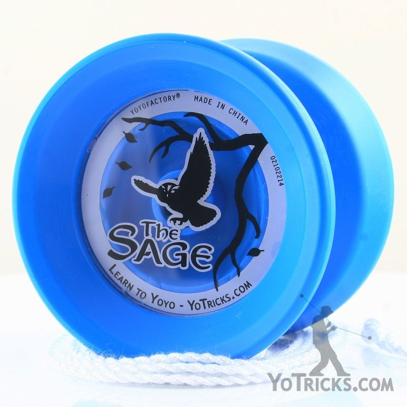 Blue Professional Magic Yoyo M001 Advanced Aluminum YO-YO Ball Multi Tricks