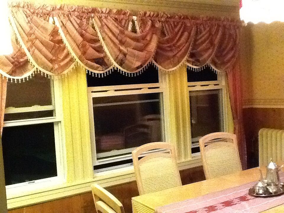 Cenefa para comedor cortina para comedor pinterest comedores y cortinas - Cortinas para comedores ...
