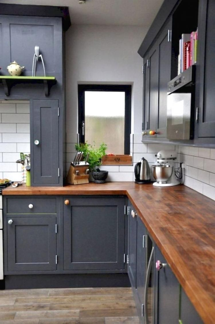 Marvelous Farmhouse Kitchen Decorating Ideas Repeindre Meuble