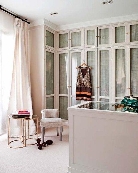 Armarios y closets de moda para el dormitorio puertas - Armarios empotrados en esquina ...