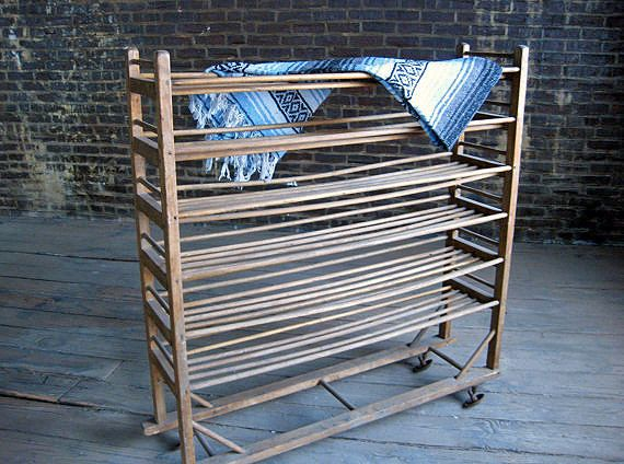Vintage Wooden Shoe Rack This Early 1900 S Display Rack Might Have Been Designed For Shoes But It S A Wooden Shoe Racks Wooden Shoe Storage Wall Storage Diy