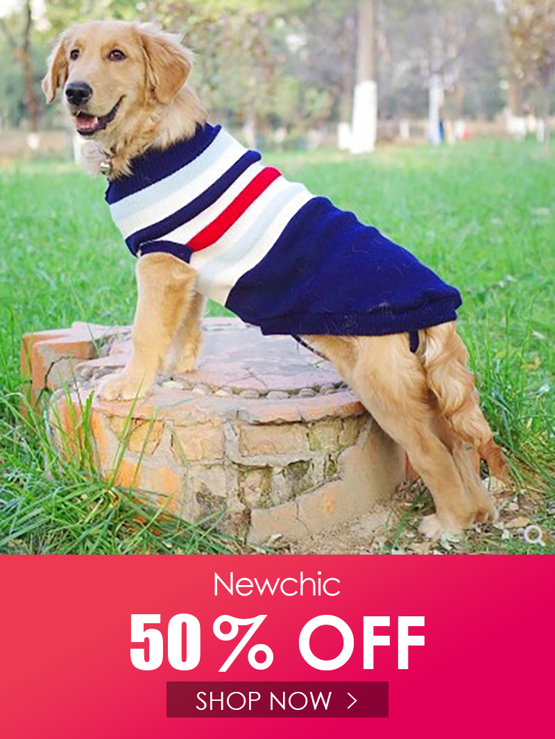 I found this amazing Pet Dog Stripe Soft Warm Knitted Sweater Winter Puppy Clothing with US527and 14 days return or refund guarantee protect to us Newchic Hello everyone...