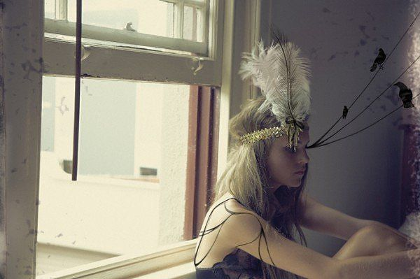 stick a feather in your hair...ready to go....