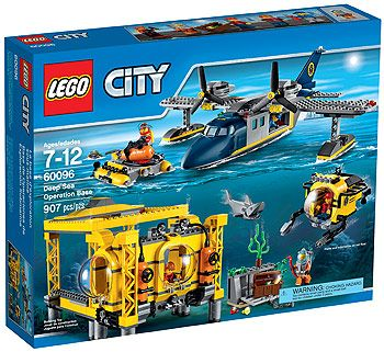 Lepin 02088 Deep Sea Exploration Base City Lego Activities Sea Explorer Block And Brick