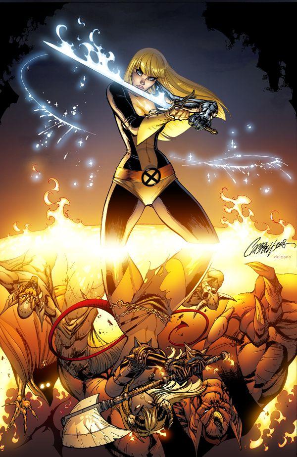 Eldelgado S Deviantart Gallery Magik Marvel Scott Campbell Marvel