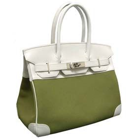 1c4abf874991 If you need Hermes Birkin bag 30 White Khaki Cotton canvas with swift  leather Silver hardware ...