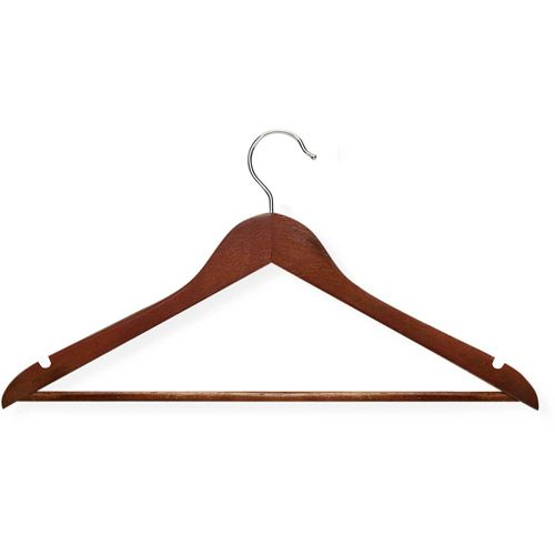 Honey Can Do 24pk Suit Hanger Cherry Wedding Wooden Coat Hangers Suit Hangers Hanger