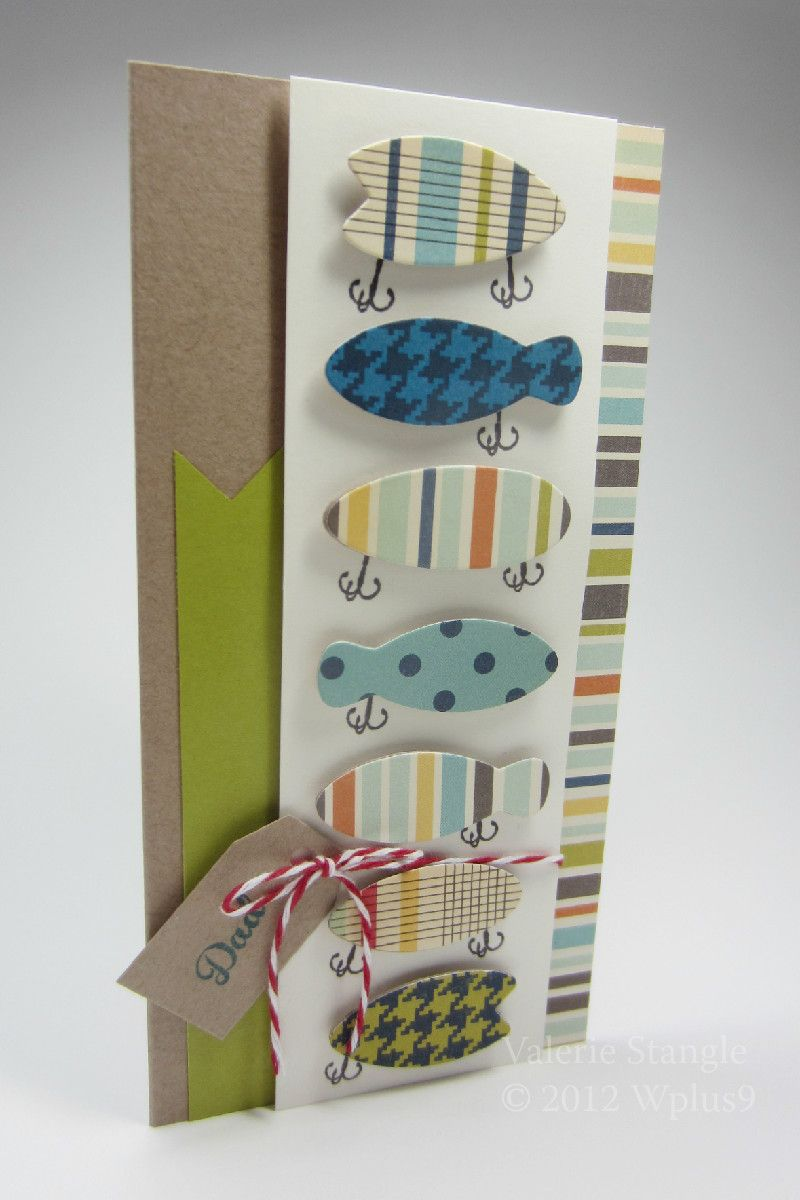 Love this fish card by Valerie Stangle | Greeting Cards | Pinterest ...