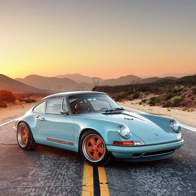 9 Classic Car Instagrams You Need To Follow This Week #classic car porsche