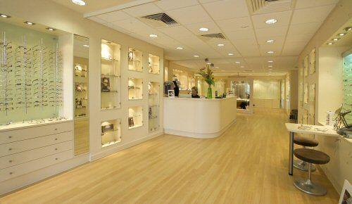 Insights Modern Optical Shop Design Very Sleek Optical