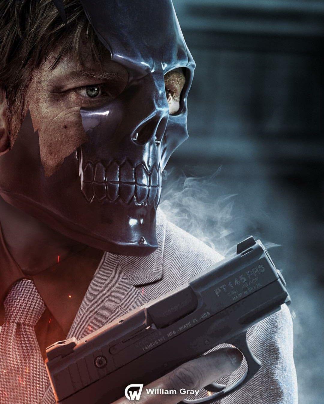Pin On Black Mask Dc