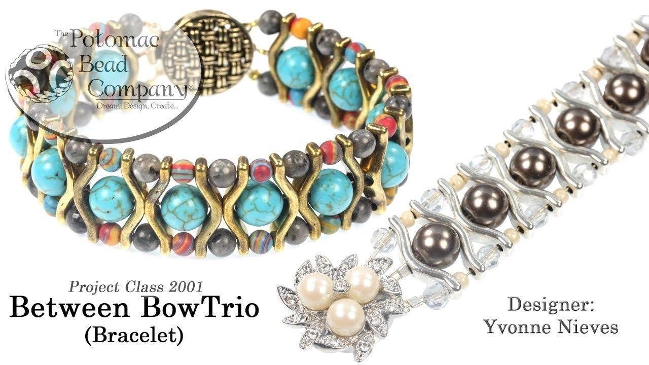 Photo of Between BowTrio Bracelet (DIY Jewelry-Making Tutorial)