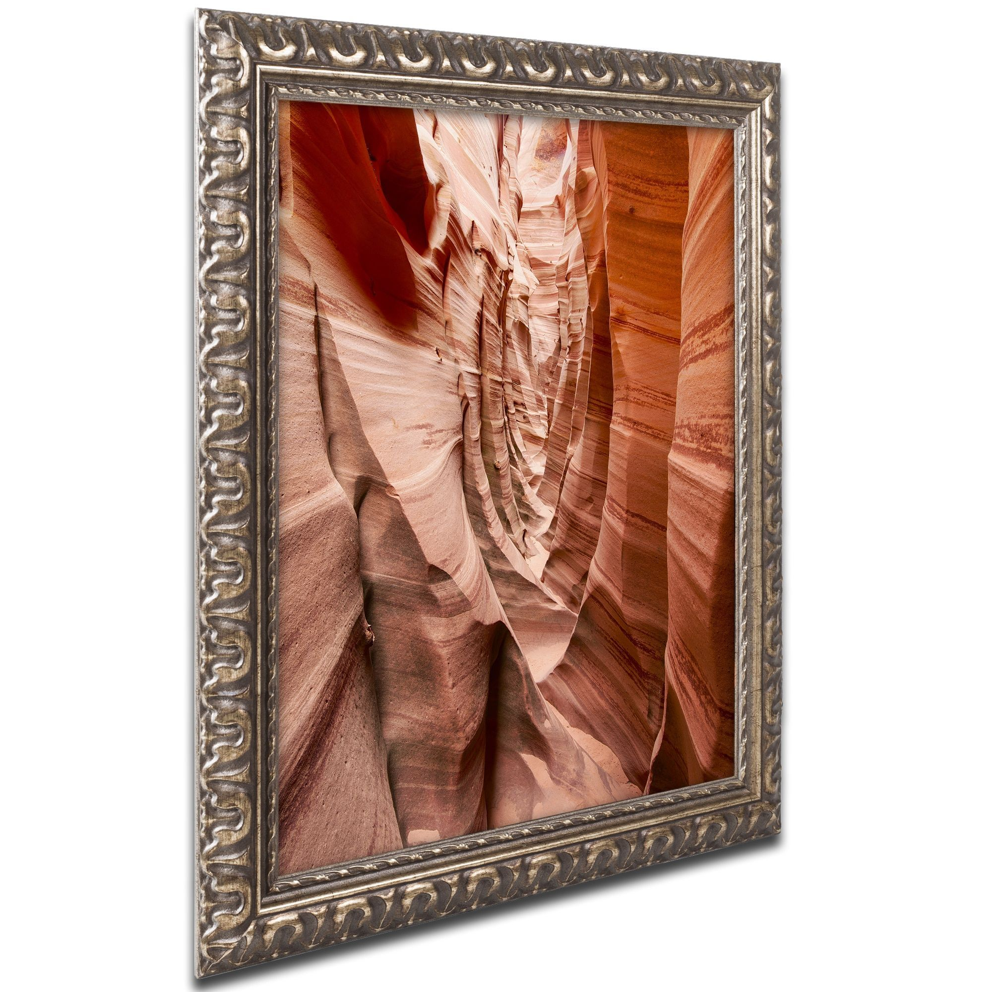 Michael Blanchette Photography 'Sandstone Buttress' Ornate Framed Art