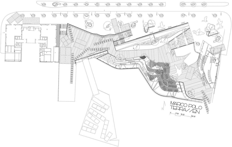 Hafencity public space by miralles tagliabue embt marco for Terrazas urban mall chacras de coria
