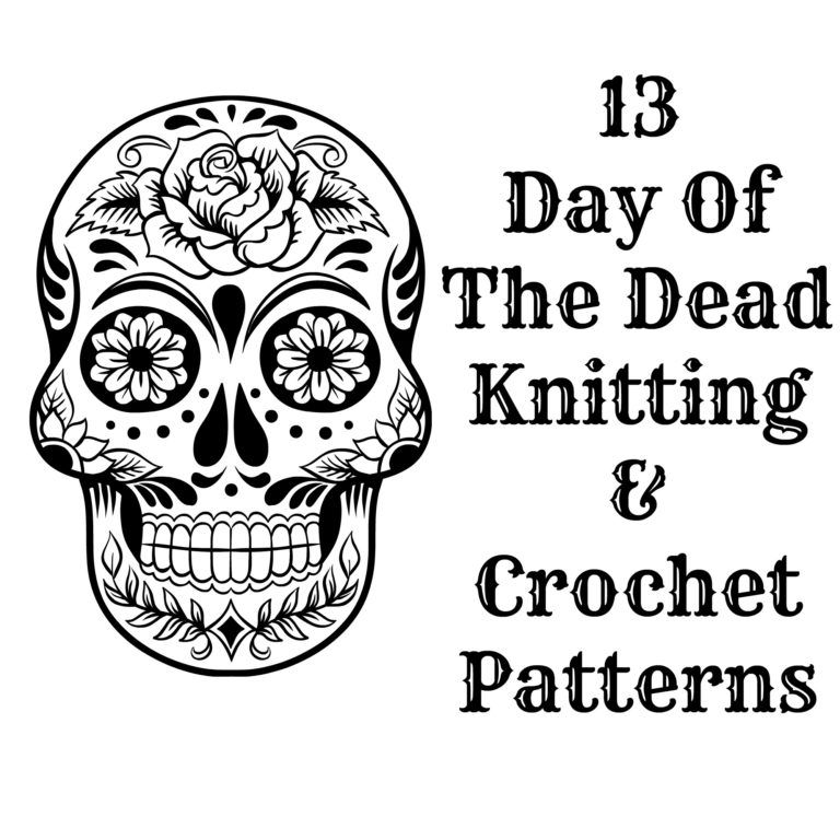 Day Of The Dead Knitting and Crochet Patterns | Crochet~Halloween ...