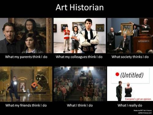 Art historian meme