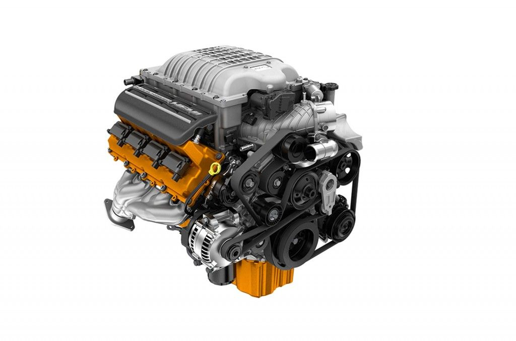 Supercharged 6 2l Hemi Hellcat V8 Hellcat Engine Dodge
