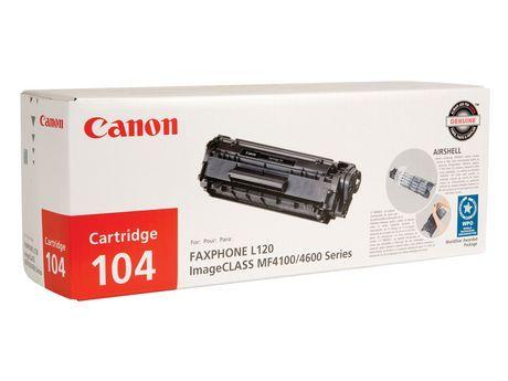 Canon Canada Inc Canon 104 Black Toner Cartridge in 2019