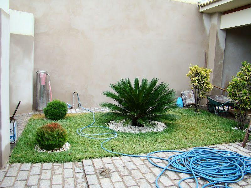 5 modelos de jardins pequenos imagens) Jardins