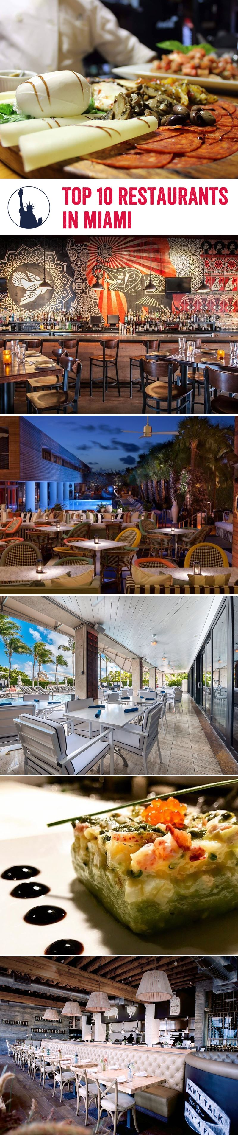 We've put together our list of the top 10 restaurants in Miami guaranteed to overwhelm all your senses with pure bliss