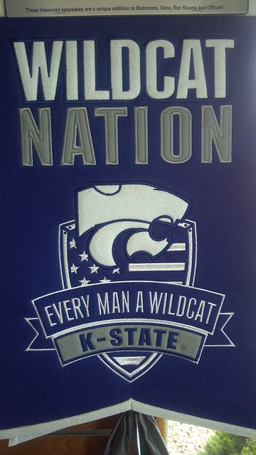 Felt Pendant Kansas State Kansas State Wildcats