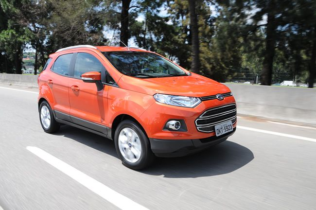 Ford Ecosport Titanium Powershift With Dual Clutch Transmission Model Exhibits Its Best Www Carskings Com