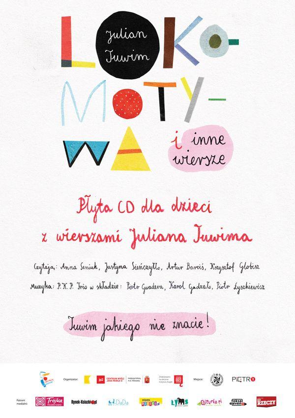 Tuwims Birthday By Agata Krolak Via Behance Typo