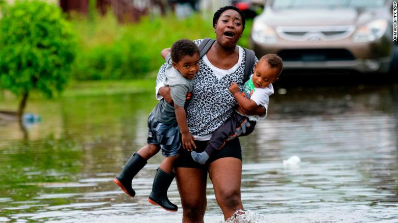 Louisiana residents evacuate as Tropical Storm Barry