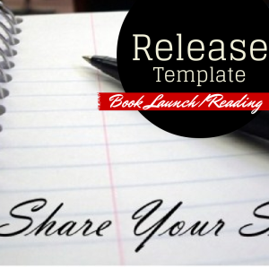 Template Tips For Writing A Book Launch Press Release