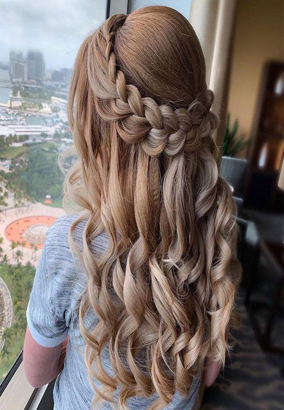 This Is Stunning Hairstyles Ideas 2019 Goruntuler Ile Dugun