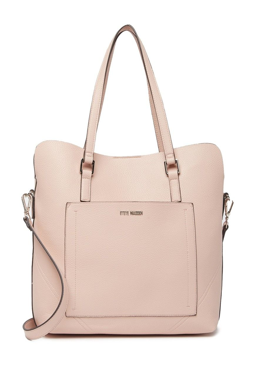 Steve Madden Handbags For Women Tote Bag Reversible with Zip Clutch Purse