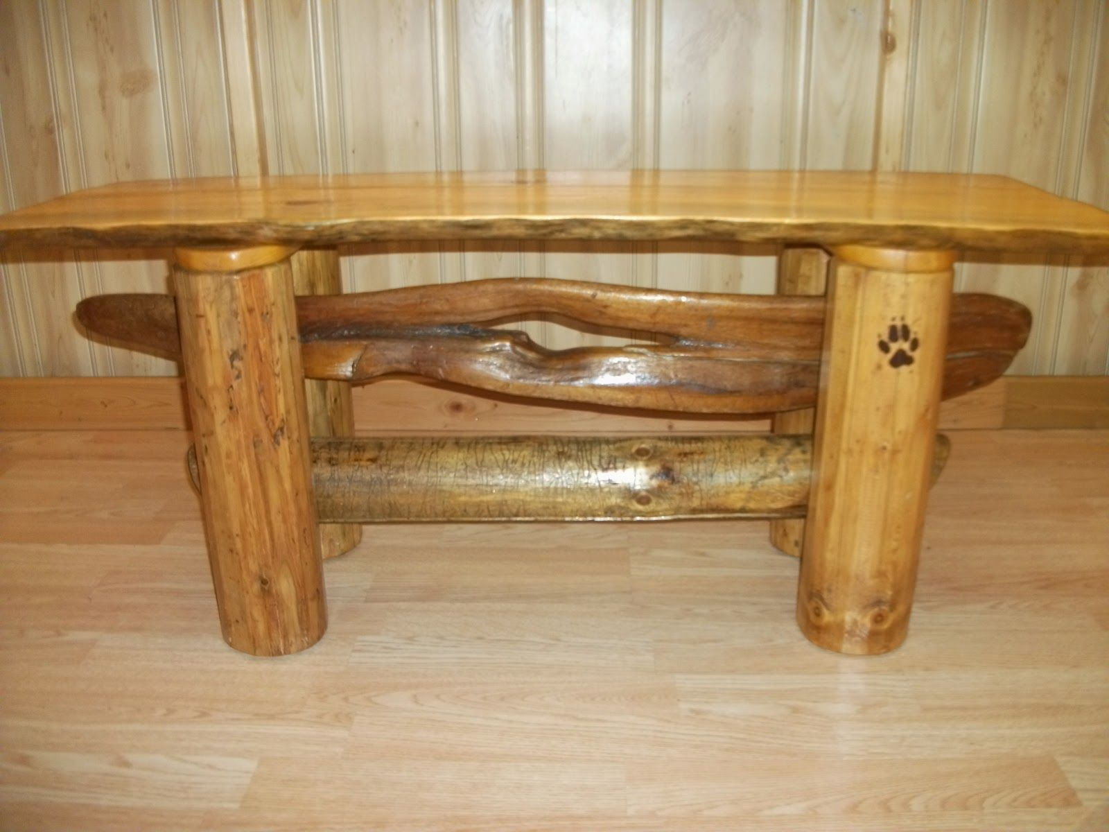 Rustic Forest Furniture Coffee Table