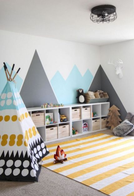55 Best Ideas Fun Kid Play Room Design That You Must Have In Your Home 021 Toddler Bedrooms Nursery Room Decor Kid Room Decor