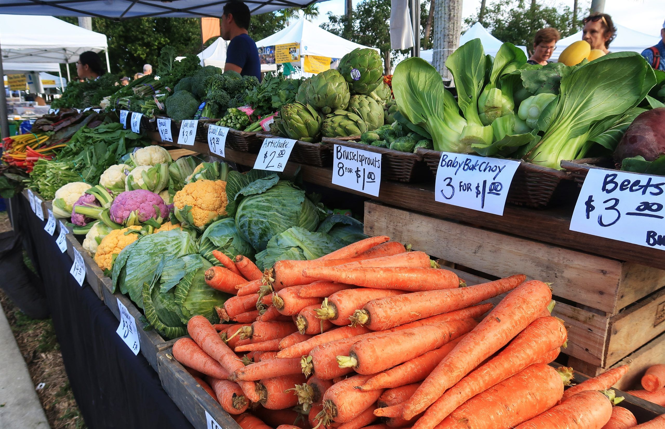 Looking For Fresh Veggies Head Down To The Green Market Today Ilovewpb Veggies Fresh Veggies Fresh