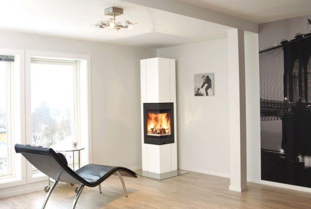 Exceptional Kamin In Der Ecke   Ofen   Minimalistisch   Fireplace   Nordpeis AS