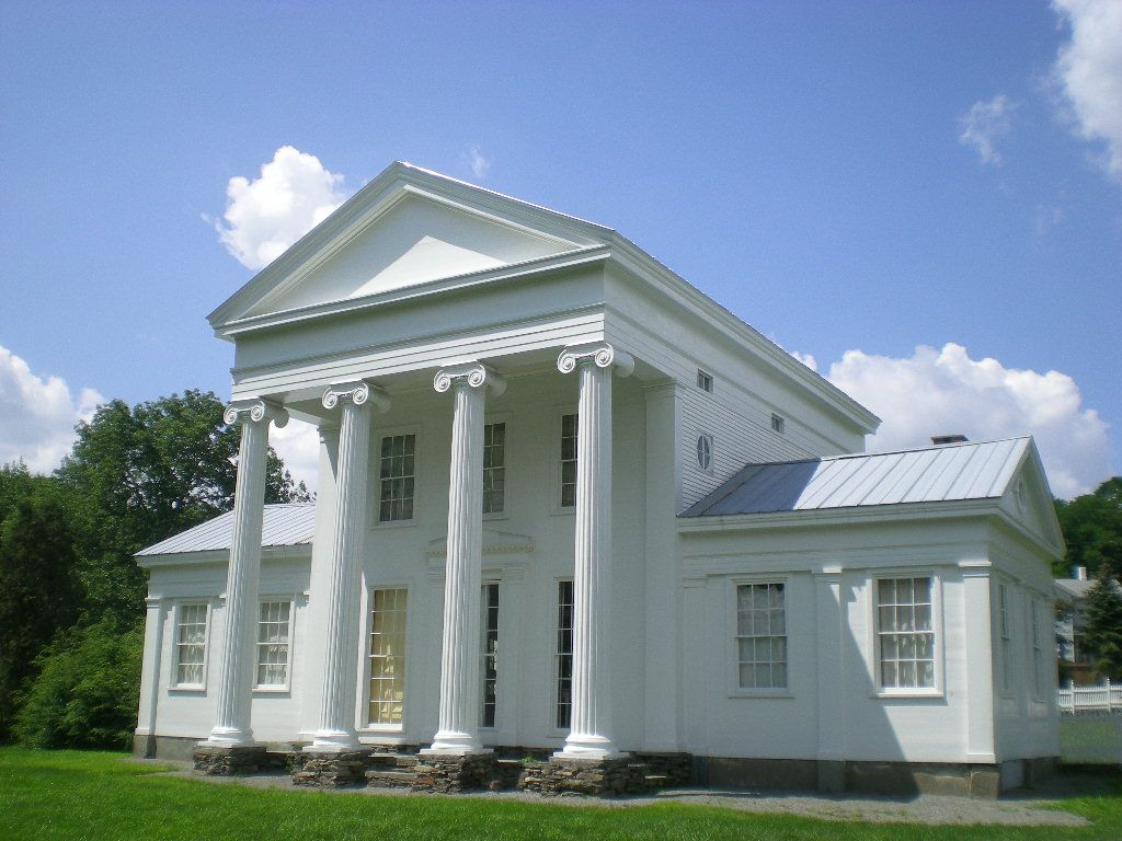 Bronson Pinchot Project Awesome Show About Renovations Greek Revival Home Greek Revival Architecture Traditional Architecture