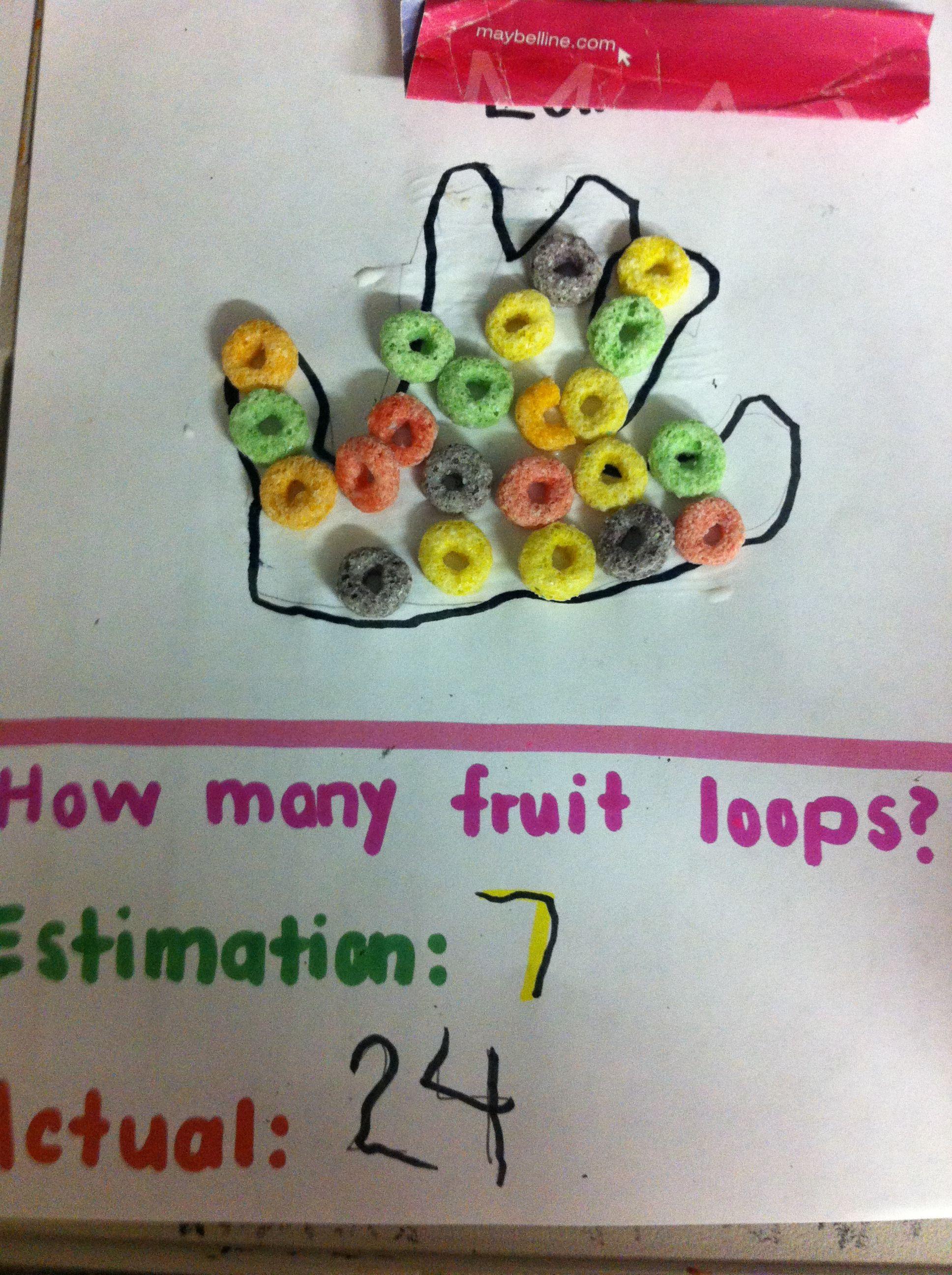 Fruit Loop Estimation