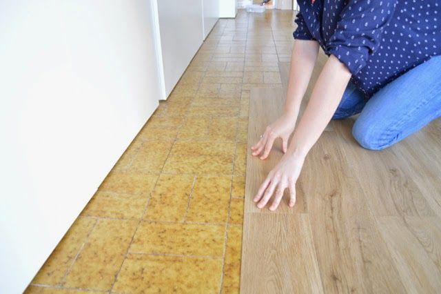 Diy el cambio del suelo de mi casa con las laminas de for Comprar losetas de vinilo autoadhesivas