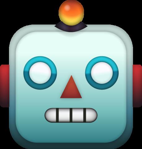 Robot Emoji Free Download Ios Emojis Emoji Emoji Clipart Apple Emojis