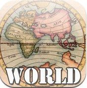 History maps of the world. Quite interesting to look at different maps from the past. And if you are studying history, could be used as a resource!