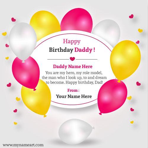 Happy Birthday Papa Message Tagalog Daddy Birthday Card Happy