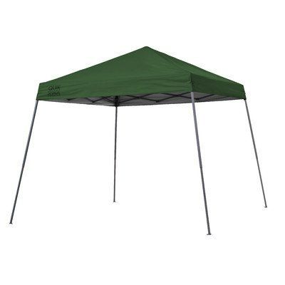 Quik Shade Expedition Instant Canopy, Green - All Quik-Shade canopies come completely assembled for quick and easy setup to provide shade and shelter wherever you need it. Simple to set up and quickly folds into a compact shape that fits inside the carry bag provided. This canopy measures 10x10 ft. at the base and provides 100 sqft. of shade...