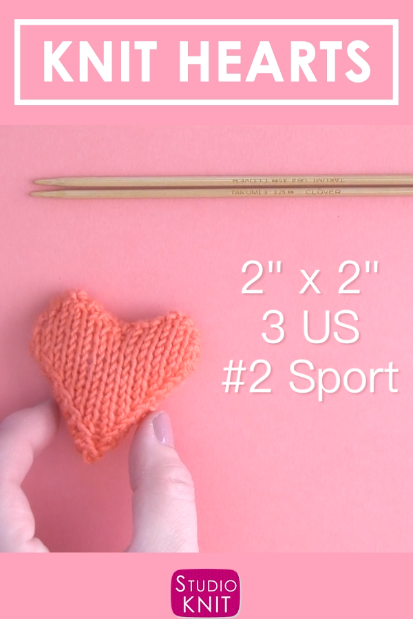Photo of Knit Heart Softies