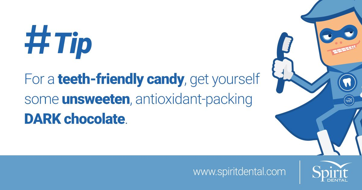 A great tip for anyone who loves chocolate spiritdental