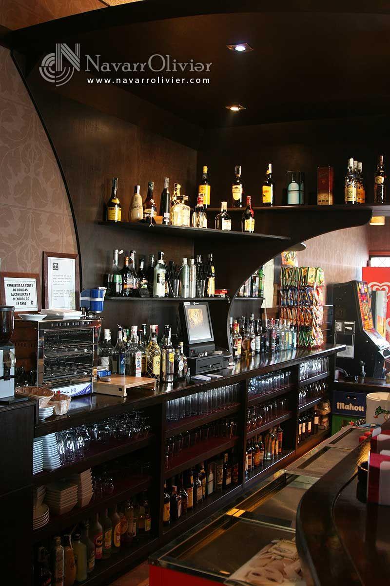 Mueble para barra de bar locales - Mueble barra bar ...