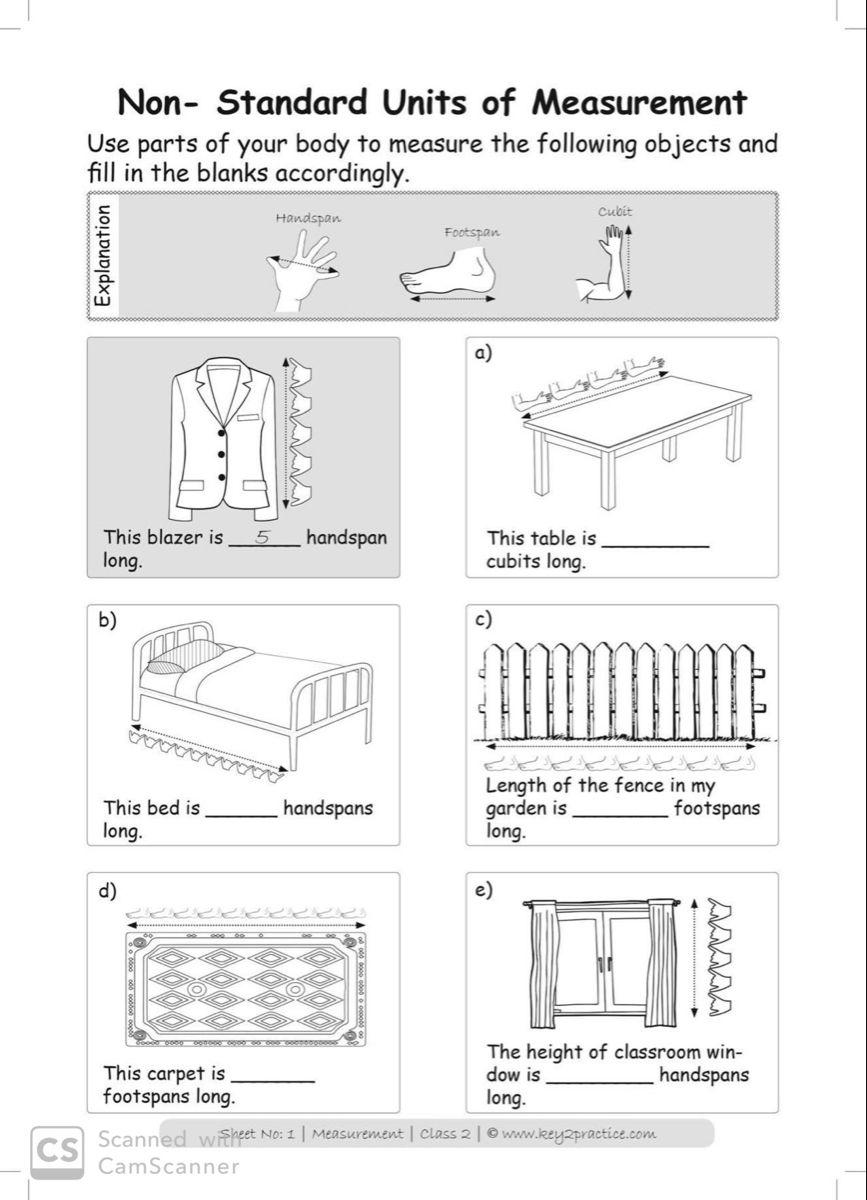 Maths Worksheets Grade 2 I Measurements - key2practice Workbooks   Measurement  worksheets [ 1200 x 867 Pixel ]