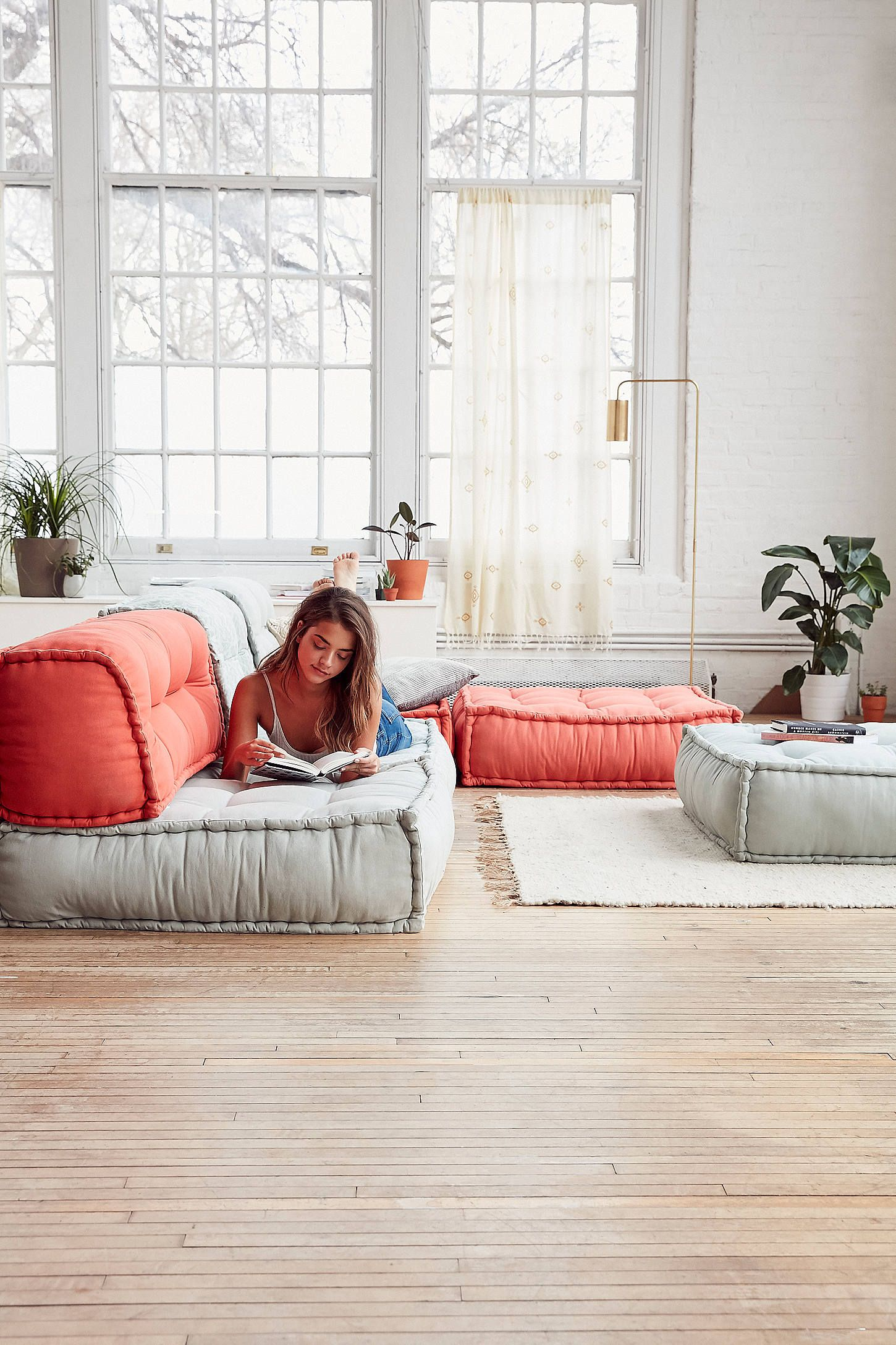 Get The Floor Cushion And Backrest Reema At Urban Outers Today We Carry All Latest Styles Colors Brands For You To Choose From