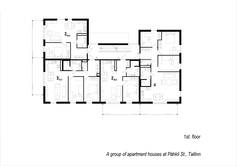6 Residential Houses In Pahkli Street / JVR