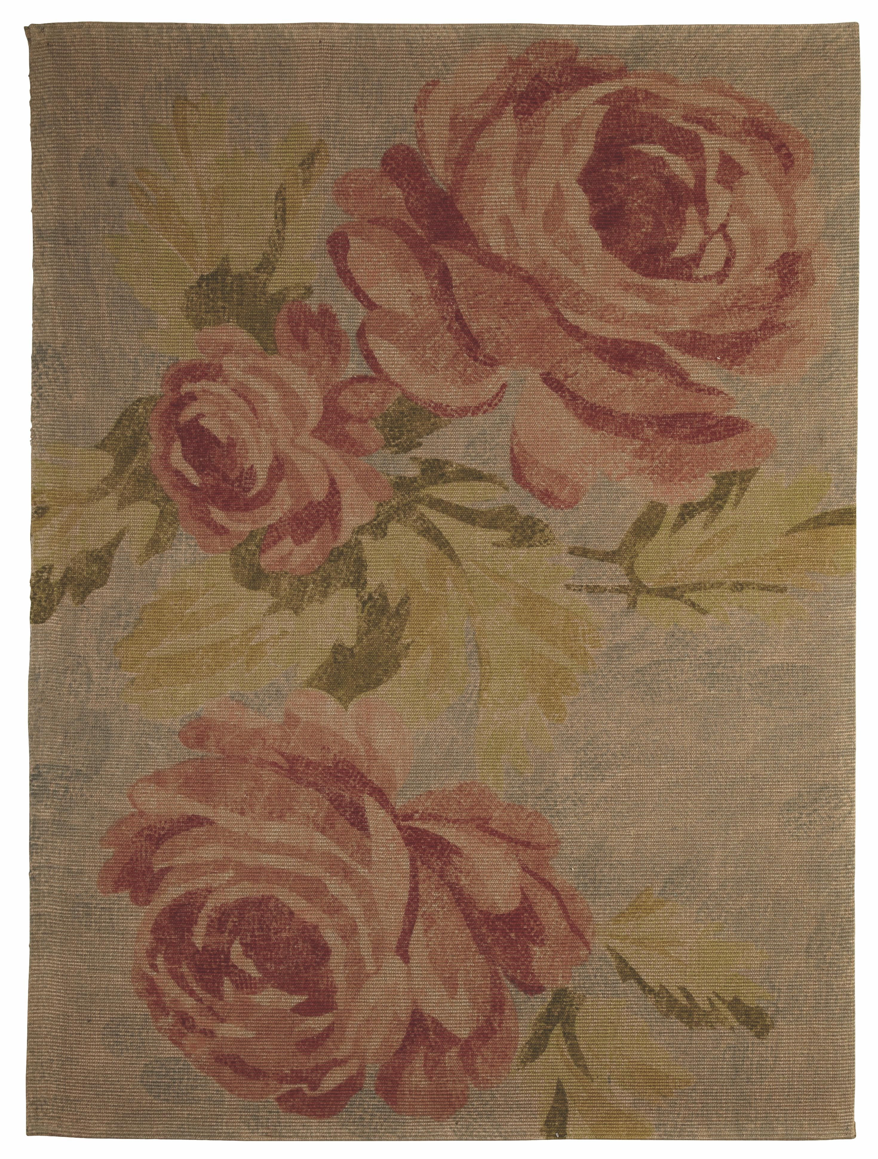 Rose Rug B And Q Flower